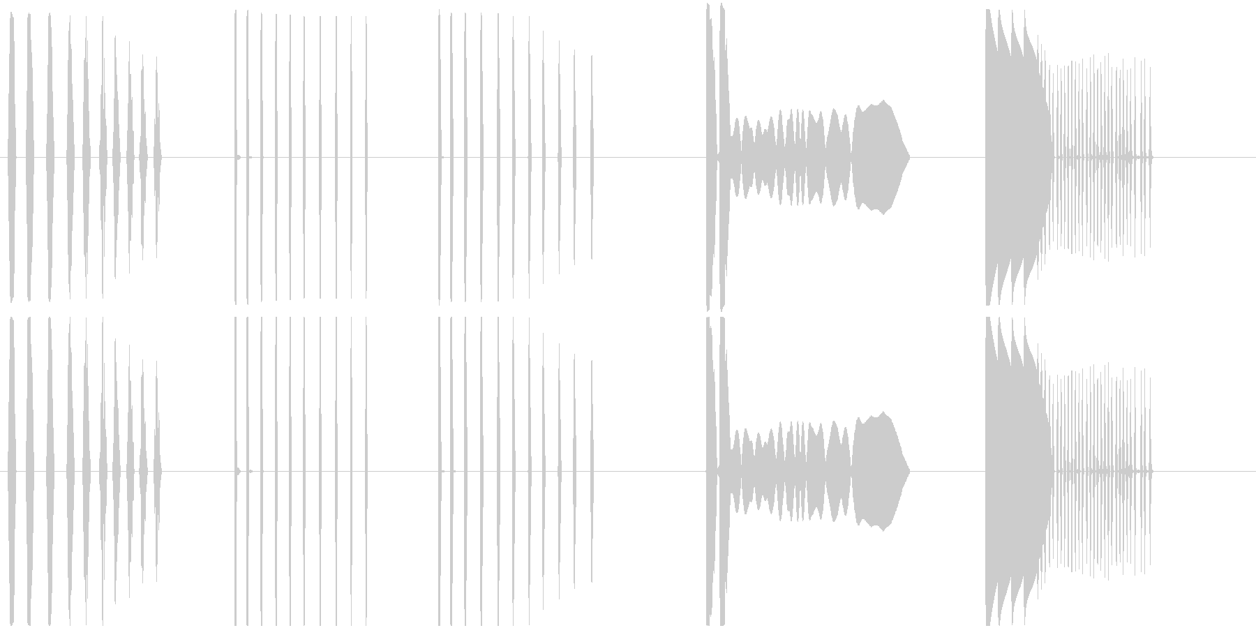 【未来の対話型コンピュータがダウン!2】の未再生の波形