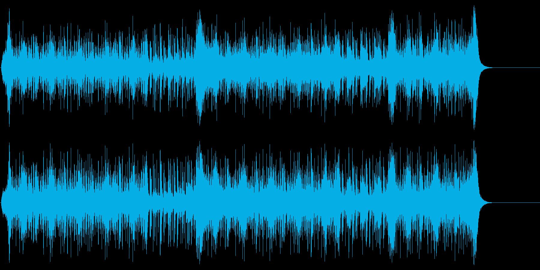スイング・ジャズ風ポップ/BGの再生済みの波形