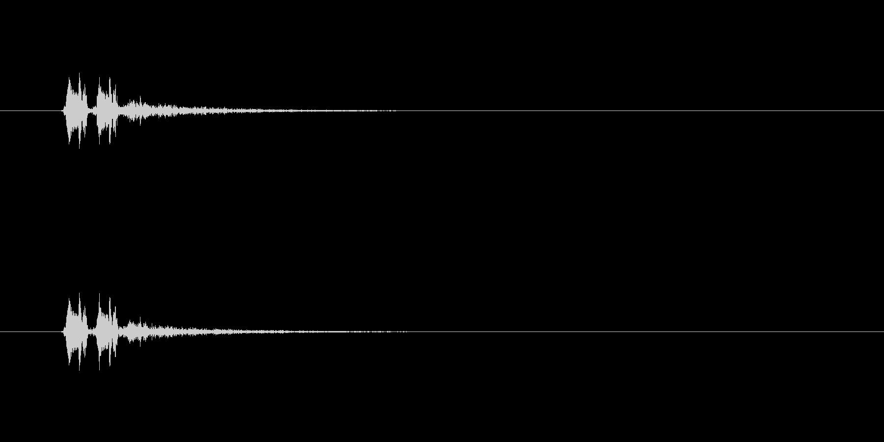 【サイバー18-3】の未再生の波形