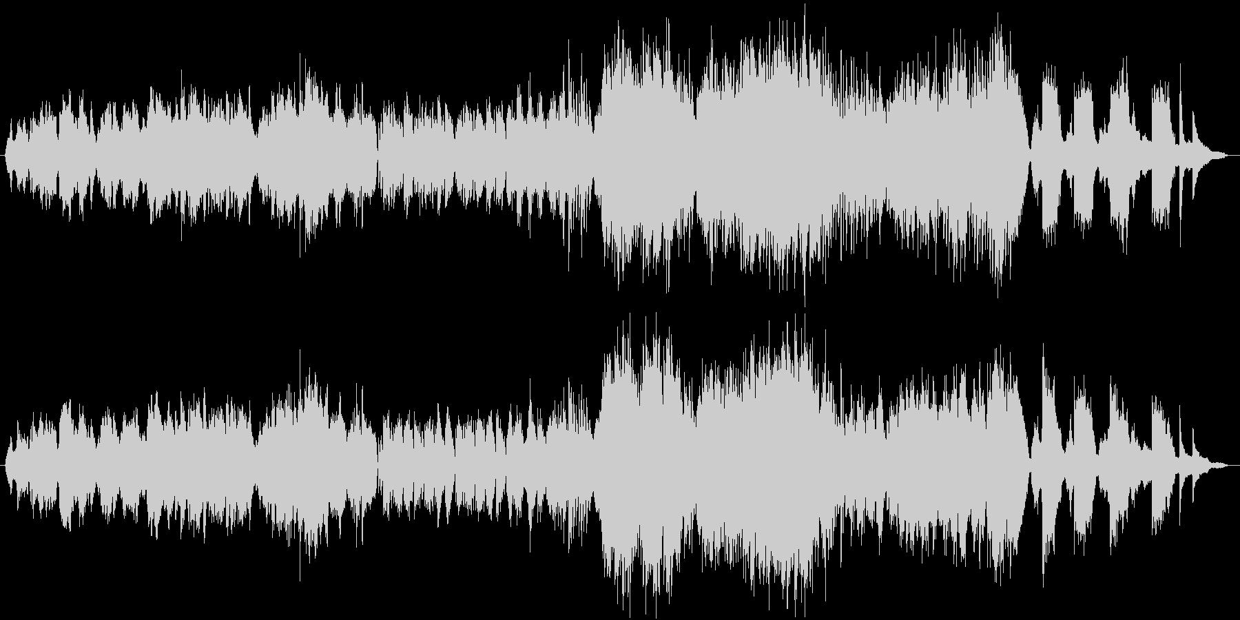和と情熱の職人/生演奏チェロ/映像の未再生の波形