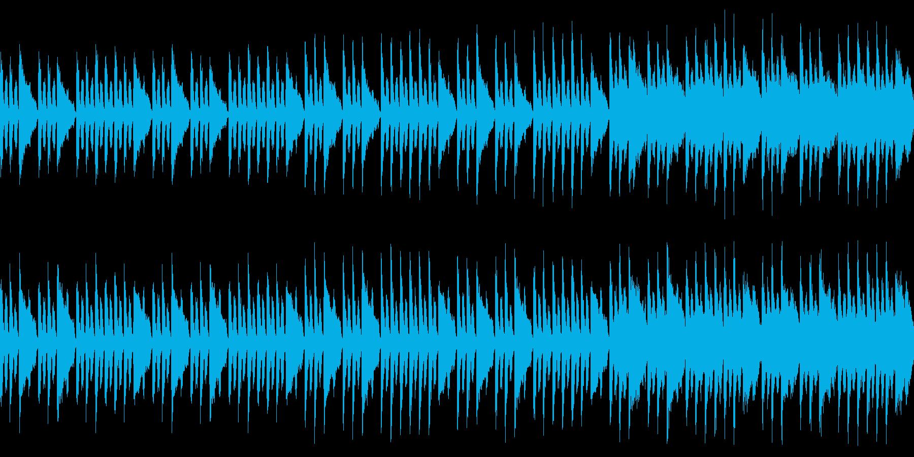 子供との感動みたいな曲(ループ仕様)の再生済みの波形