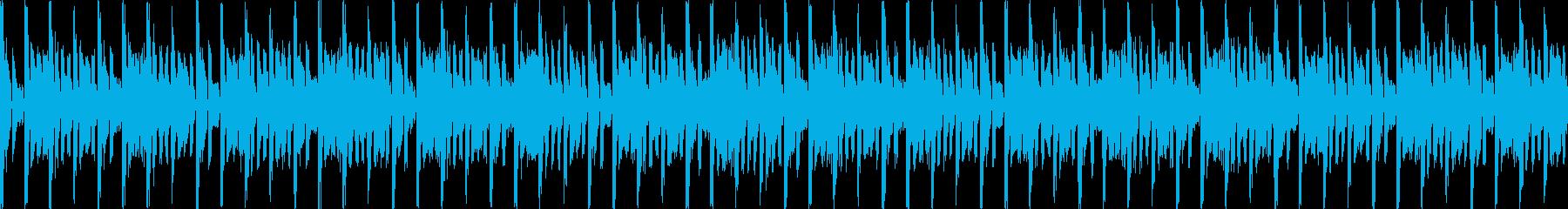 汎用BGM/デジタル(LOOP対応)の再生済みの波形