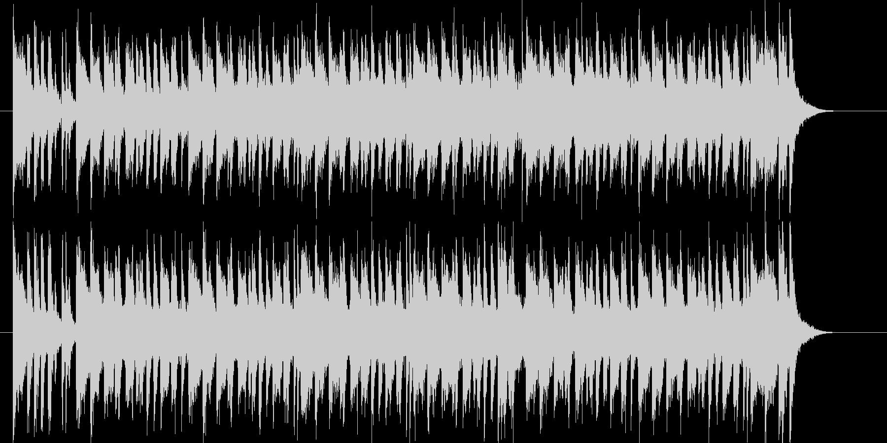明るくキャッチ―なポップジングルの未再生の波形