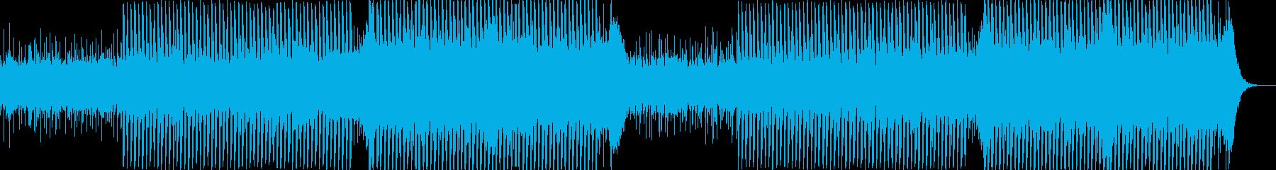 企業VP系20、爽やかギター4つ打ち3aの再生済みの波形
