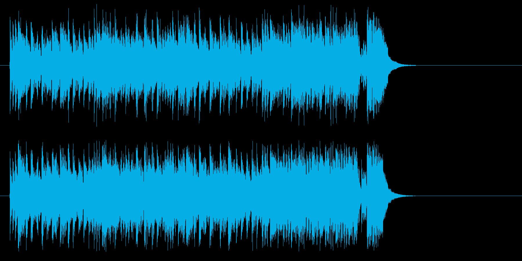 みなぎるチャレンジドラマティックサウンドの再生済みの波形