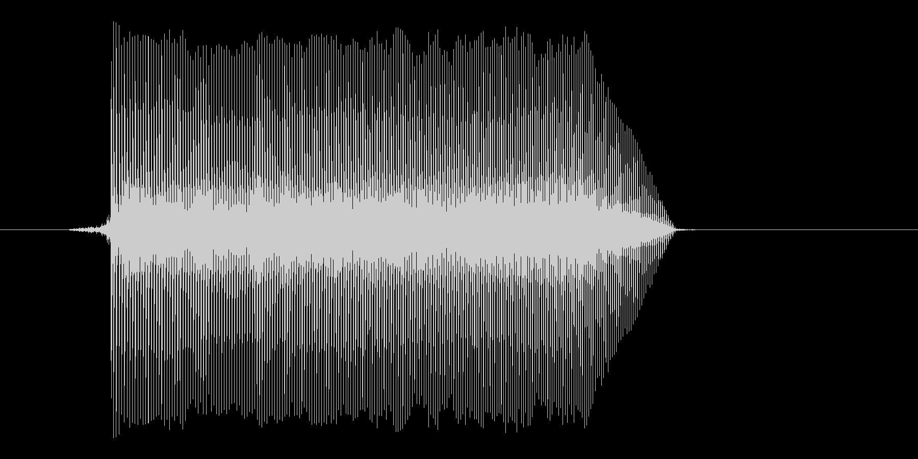 ゲーム(ファミコン風)ジャンプ音_029の未再生の波形