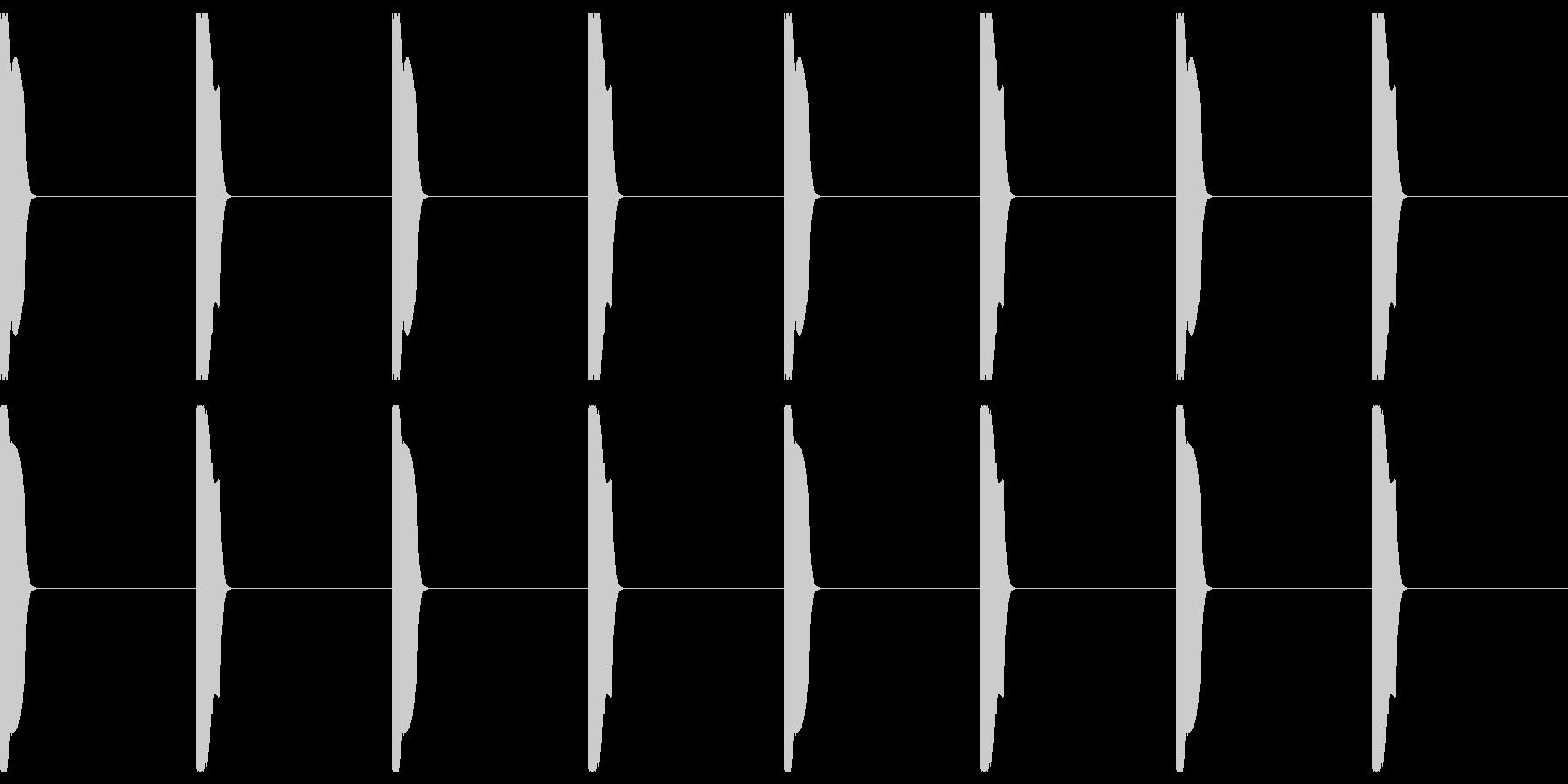 カウント02の未再生の波形