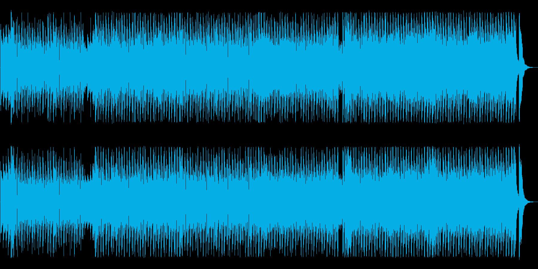 踊りだしたくなるピアノ映像BGMの再生済みの波形