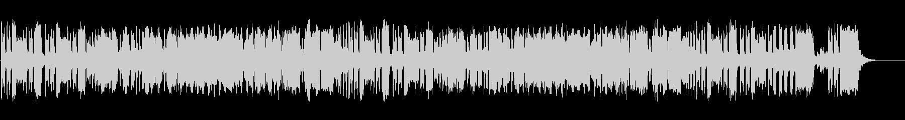 ほのぼのしたリコーダー二重奏の未再生の波形