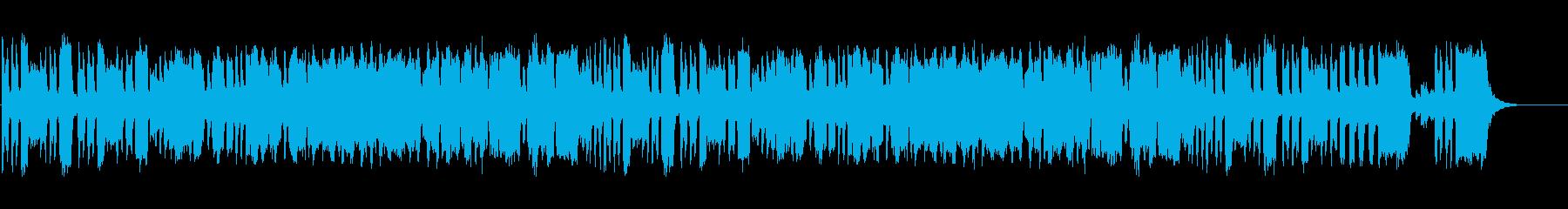 ほのぼのしたリコーダー二重奏の再生済みの波形
