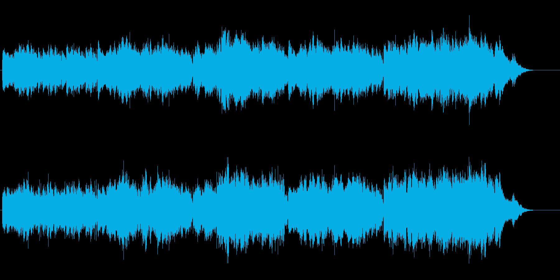 上品なボレロ風サウンドの再生済みの波形