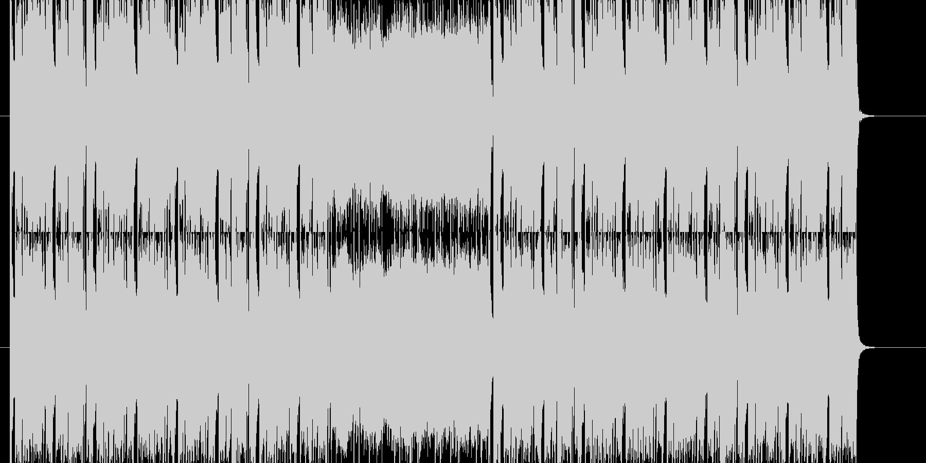 元気なフルートが印象的なポップBGMの未再生の波形