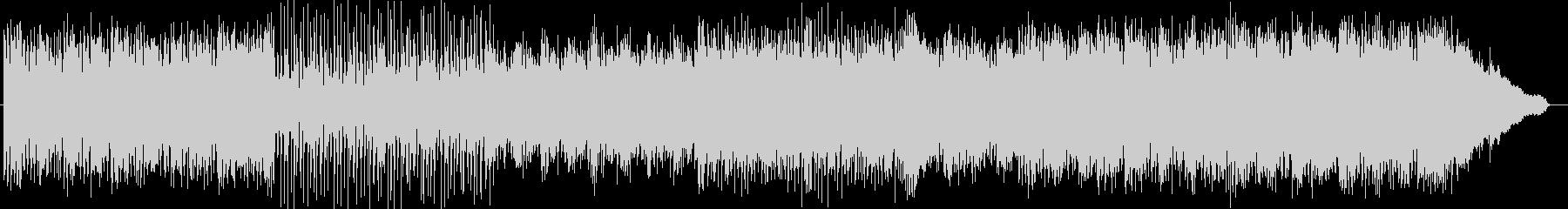 シンセサイザーによるさわやかなインストの未再生の波形