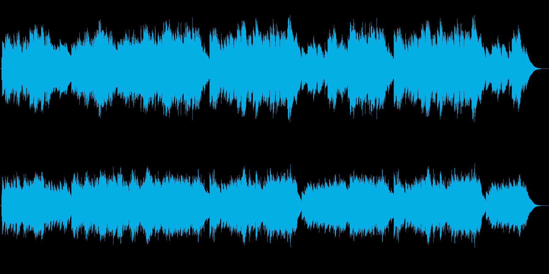 オルゴールのようなベルが優しいバラードの再生済みの波形