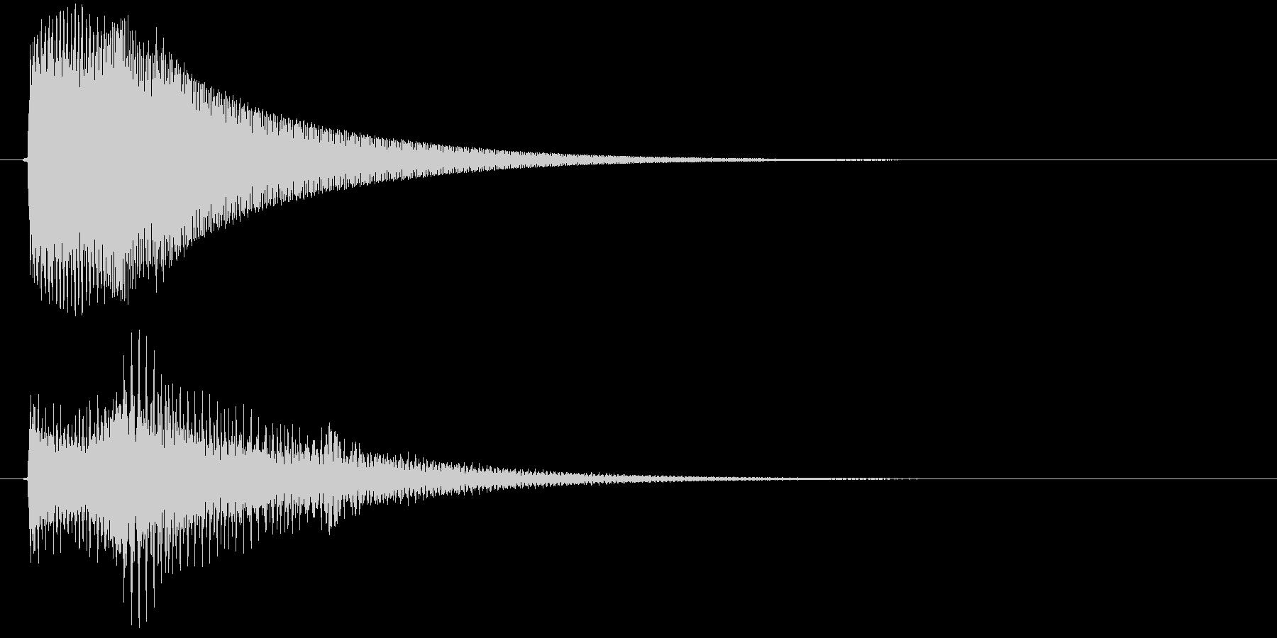 ビン(ゲーム、決定)の未再生の波形