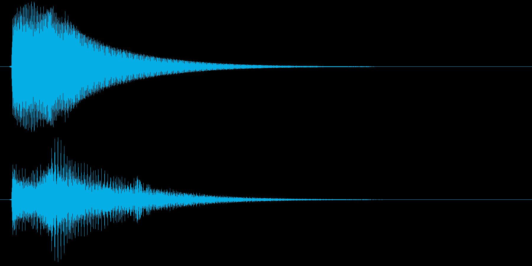 ビン(ゲーム、決定)の再生済みの波形