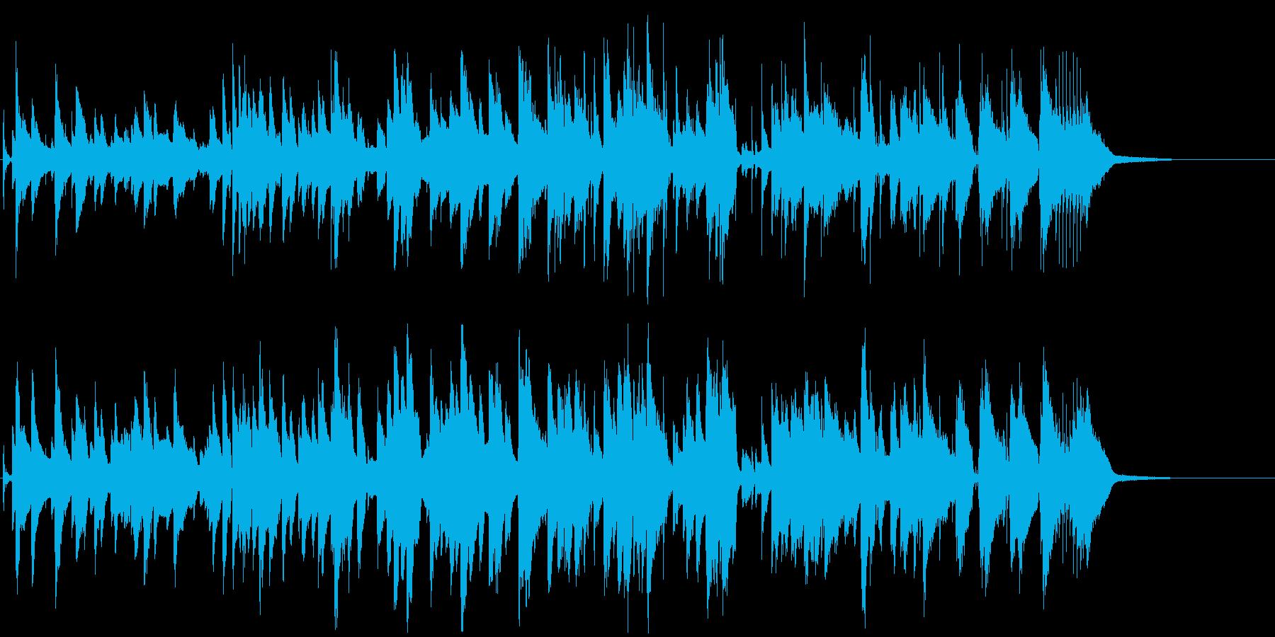ピアノトリオ  ムード 大人 バー 上品の再生済みの波形
