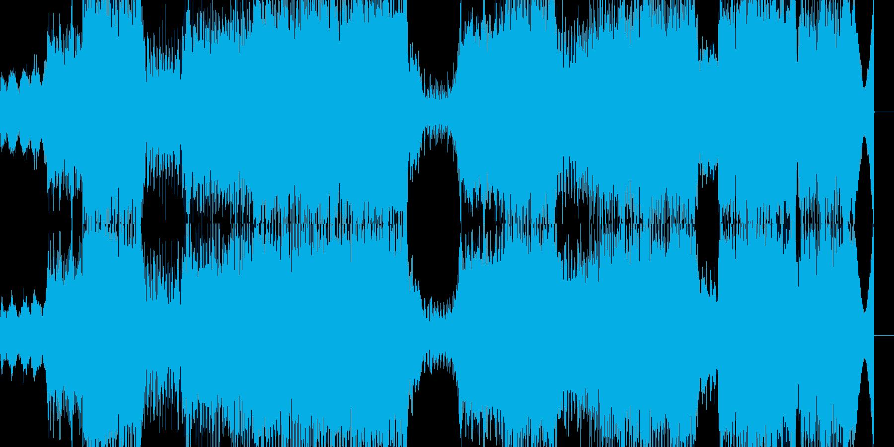 寒くて暖かい青空のクラシカルテクノの再生済みの波形