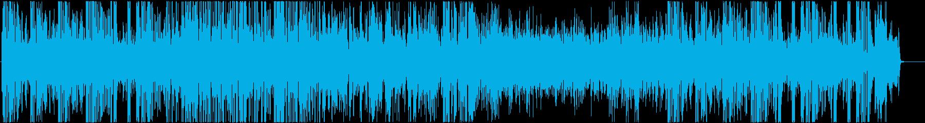 7拍子のJAZZの再生済みの波形