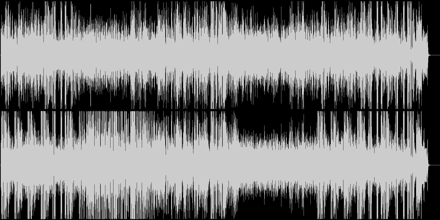 7拍子のJAZZの未再生の波形