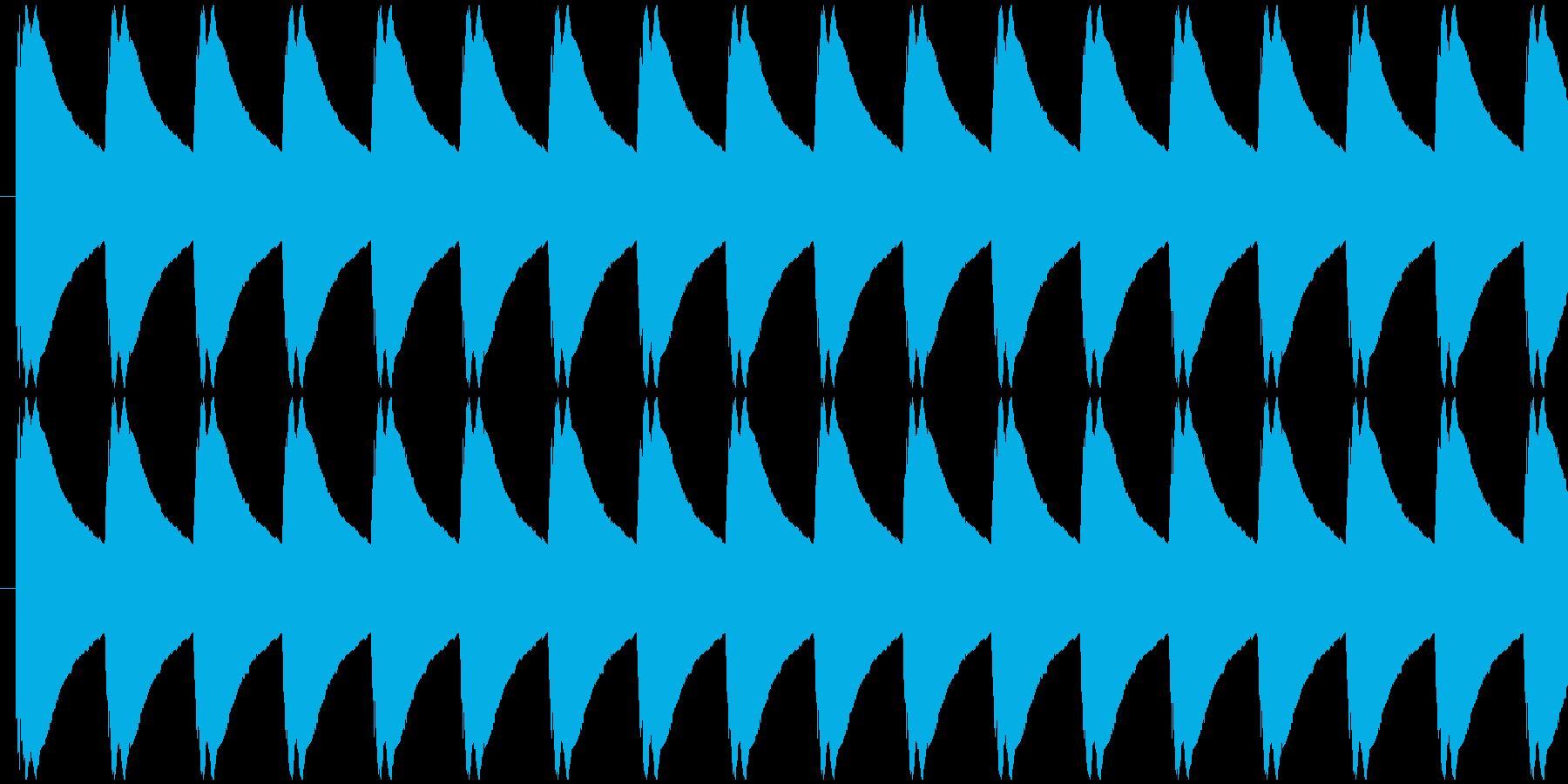 ゲージ増減 得点などの集計 ティリリリ…の再生済みの波形