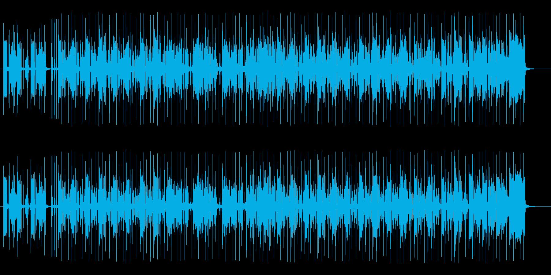 おしゃれで明るいギターサウンドの再生済みの波形