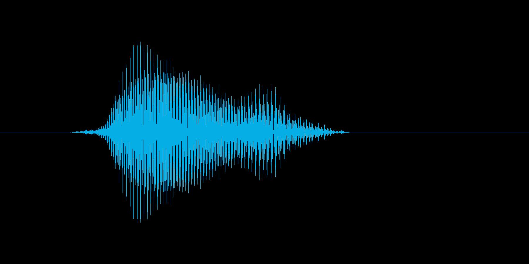 u,U,U(ユー)の再生済みの波形
