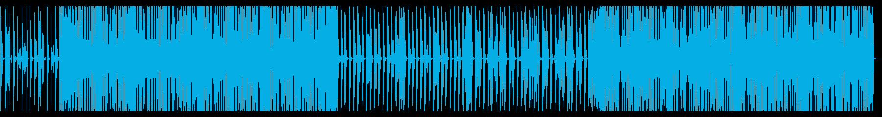 賑やかなディスコの再生済みの波形