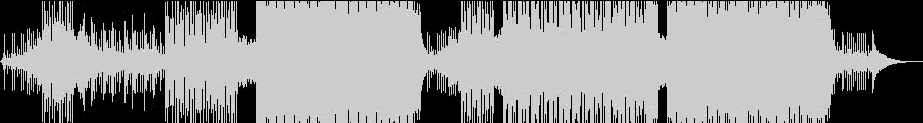 トロピカル調の優しくゆったりしたEDMの未再生の波形
