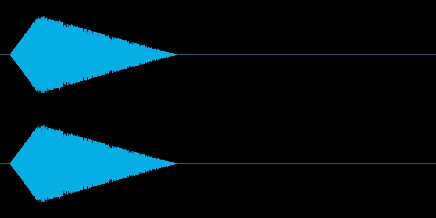 レトロゲーム風・パワーダウン#2の再生済みの波形