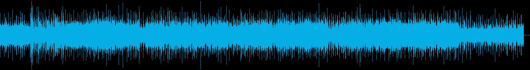 ゆるりと進行していくブルースの再生済みの波形