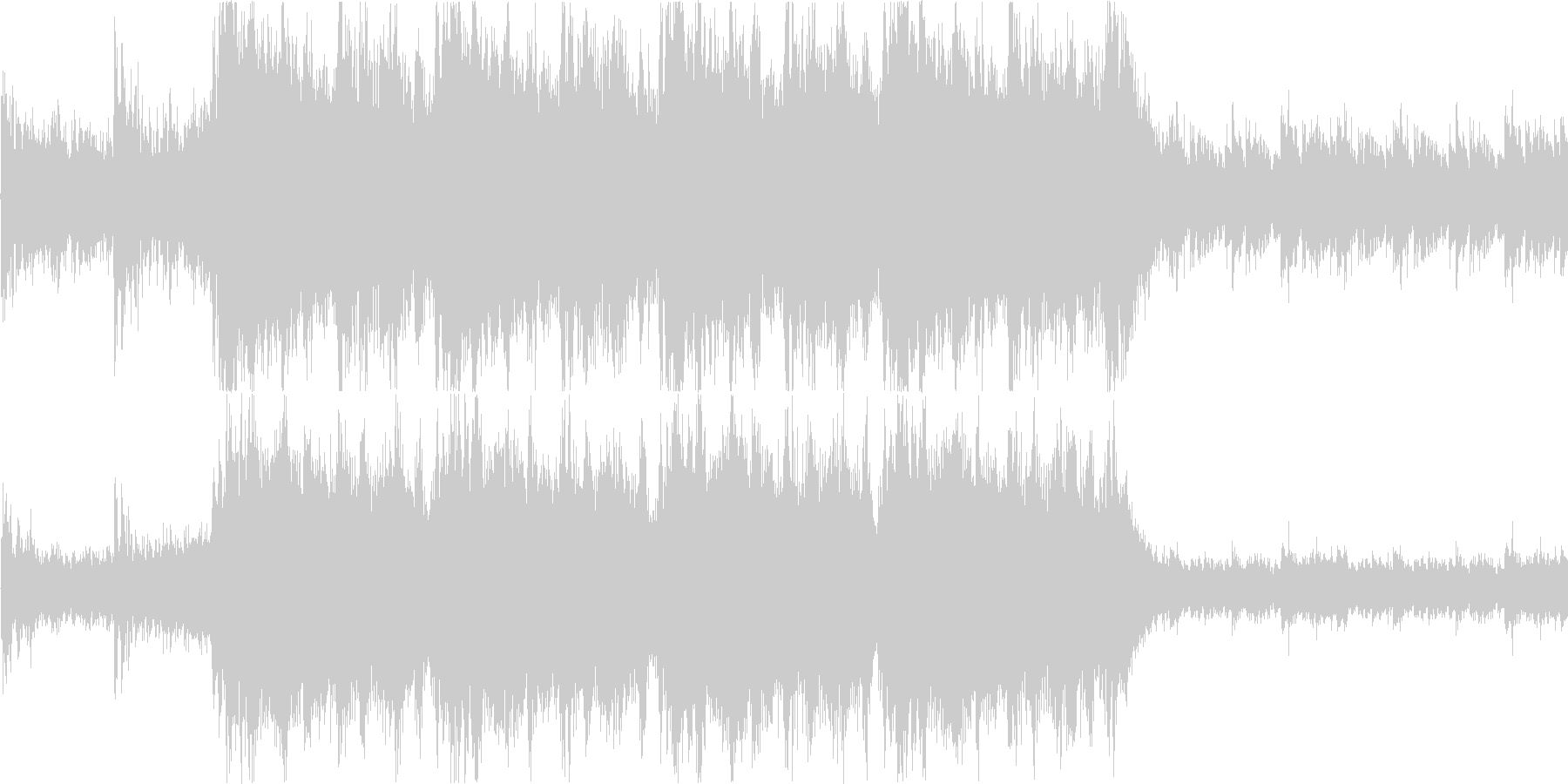 緊張感のあるダークなオーケストラ/戦闘系の未再生の波形