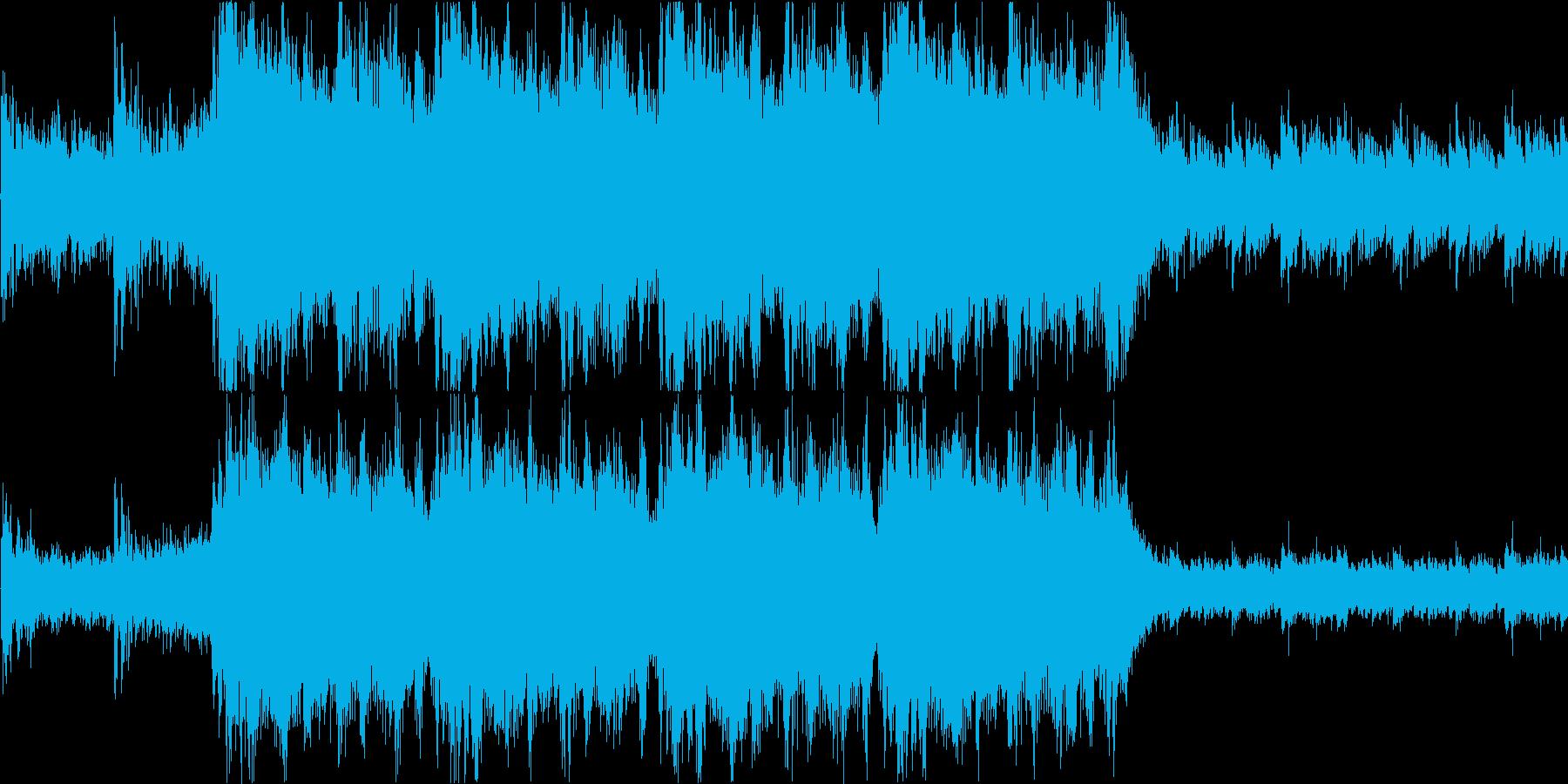 緊張感のあるダークなオーケストラ/戦闘系の再生済みの波形
