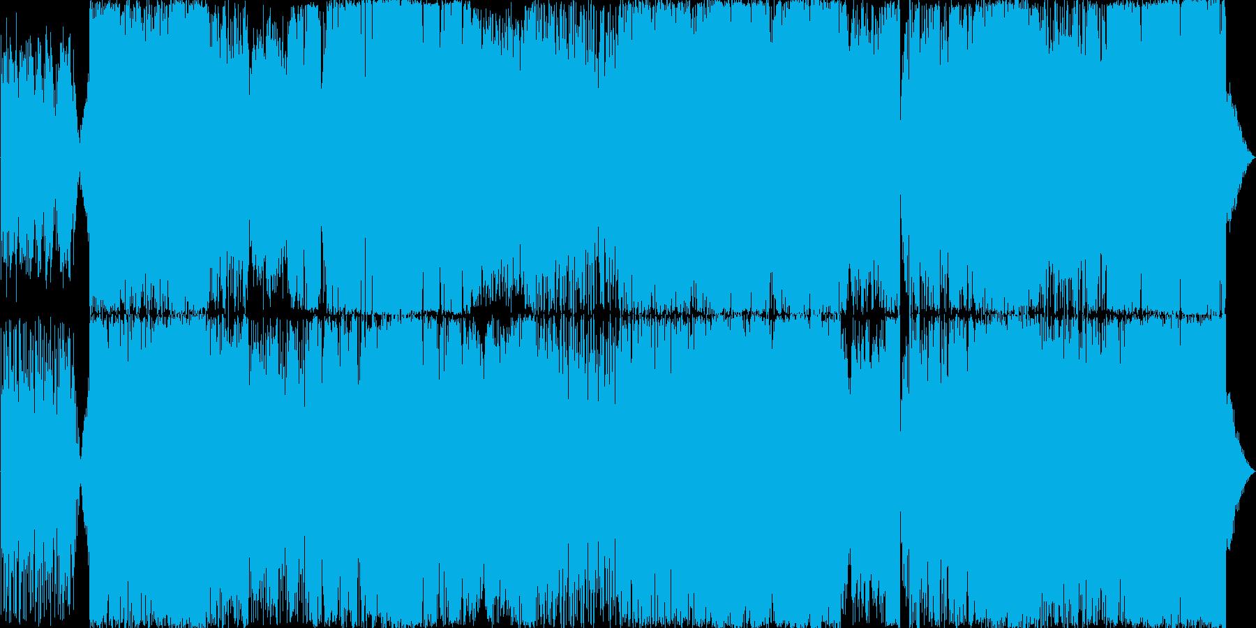 スローテクノ、チル・アウトスタイルです…の再生済みの波形