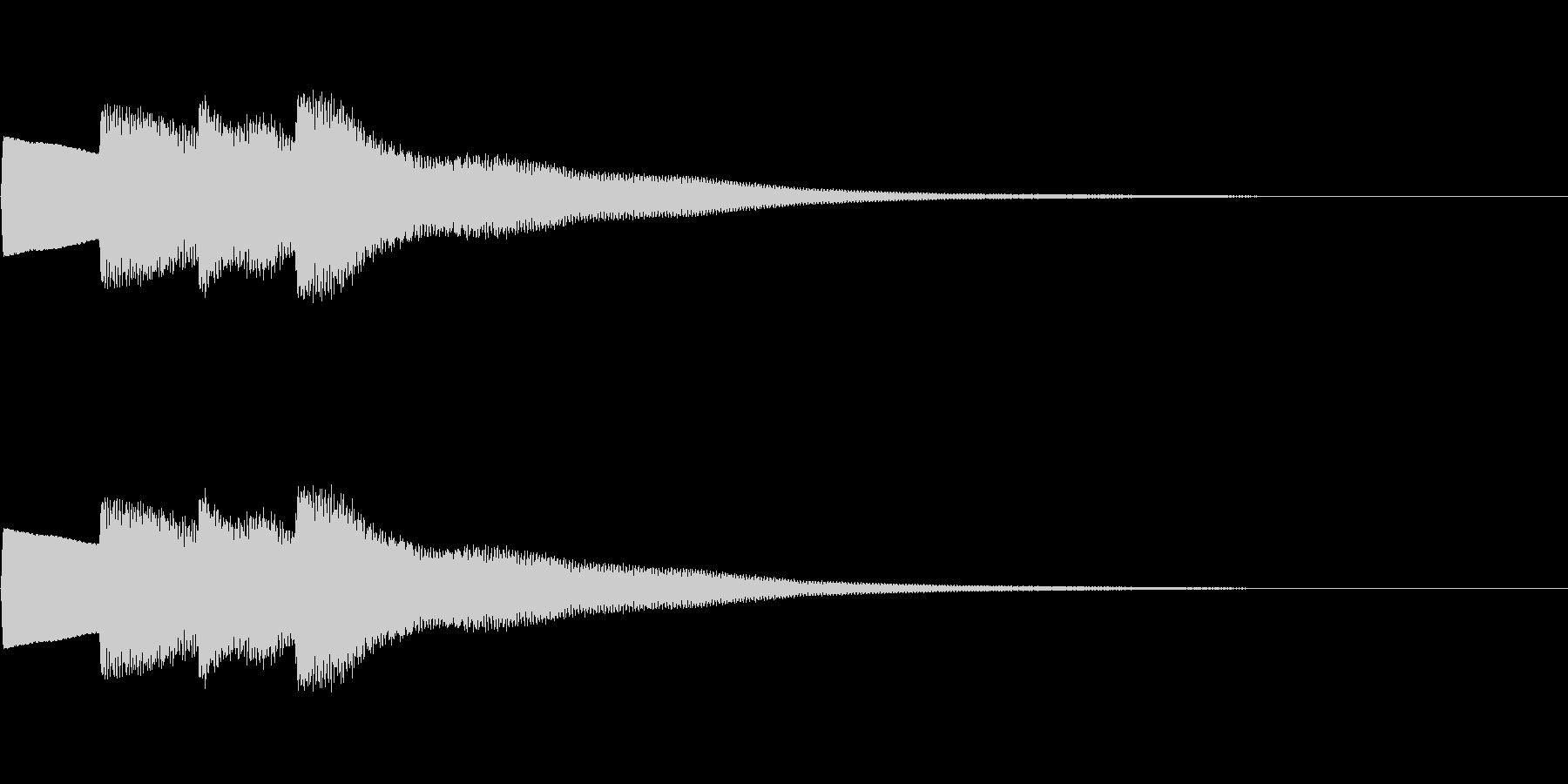 【正解01-2】の未再生の波形