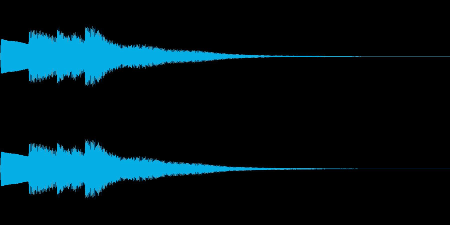 【正解01-2】の再生済みの波形