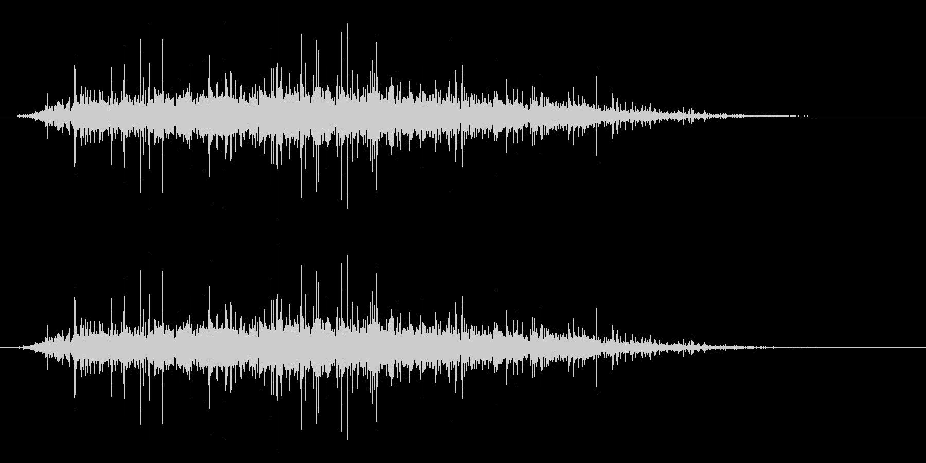 SNES ゴルフ01-09(歓声)の未再生の波形