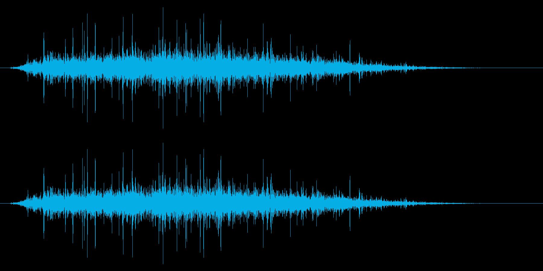 SNES ゴルフ01-09(歓声)の再生済みの波形