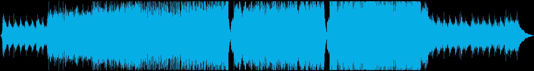 ストリングスの艶やかな劇伴ドラマ系音楽の再生済みの波形