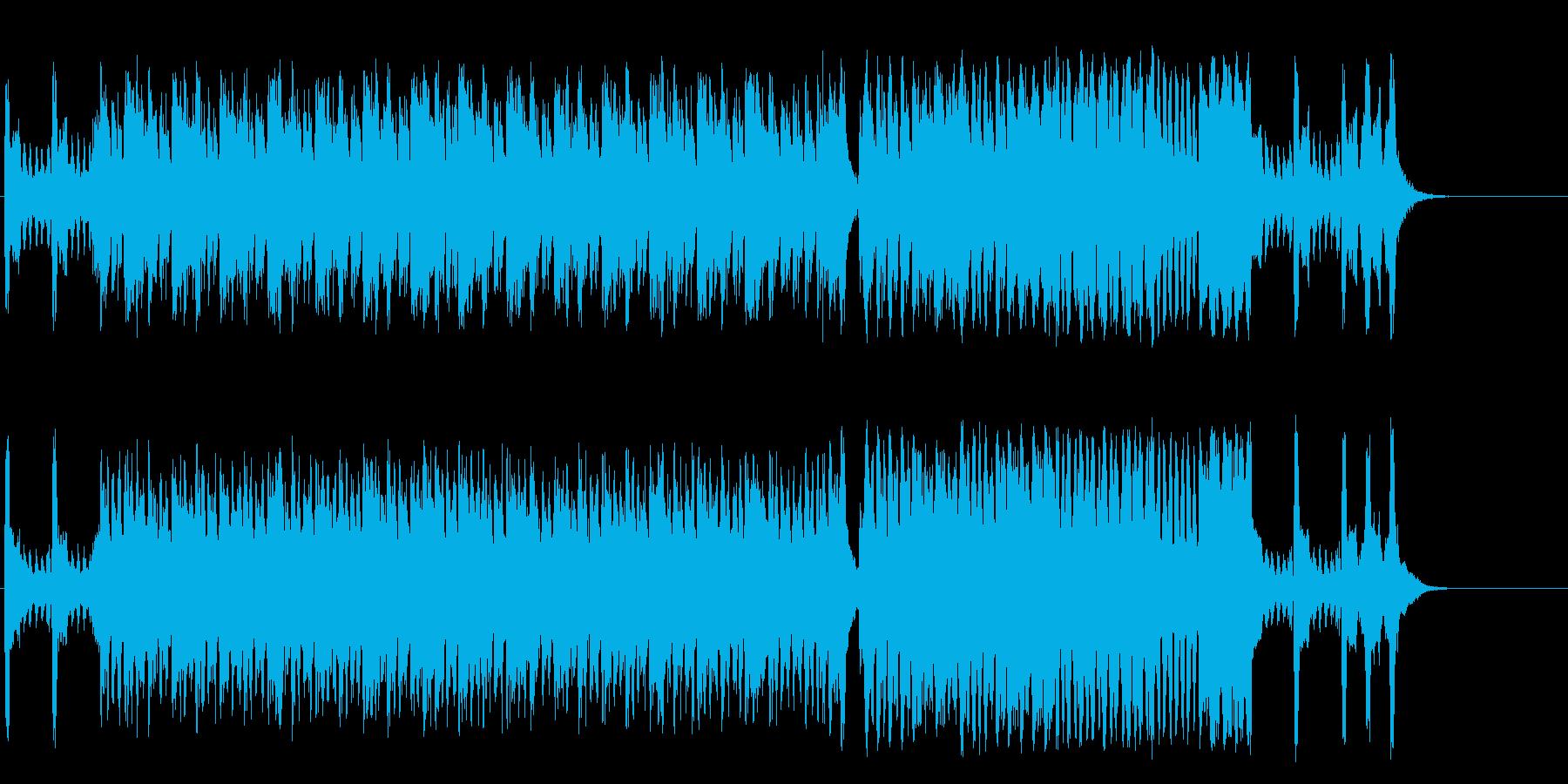 元気な子供のセミ・クラシックの再生済みの波形