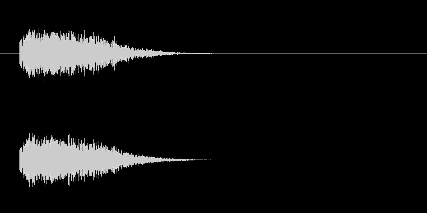 ジェット_射出音の未再生の波形