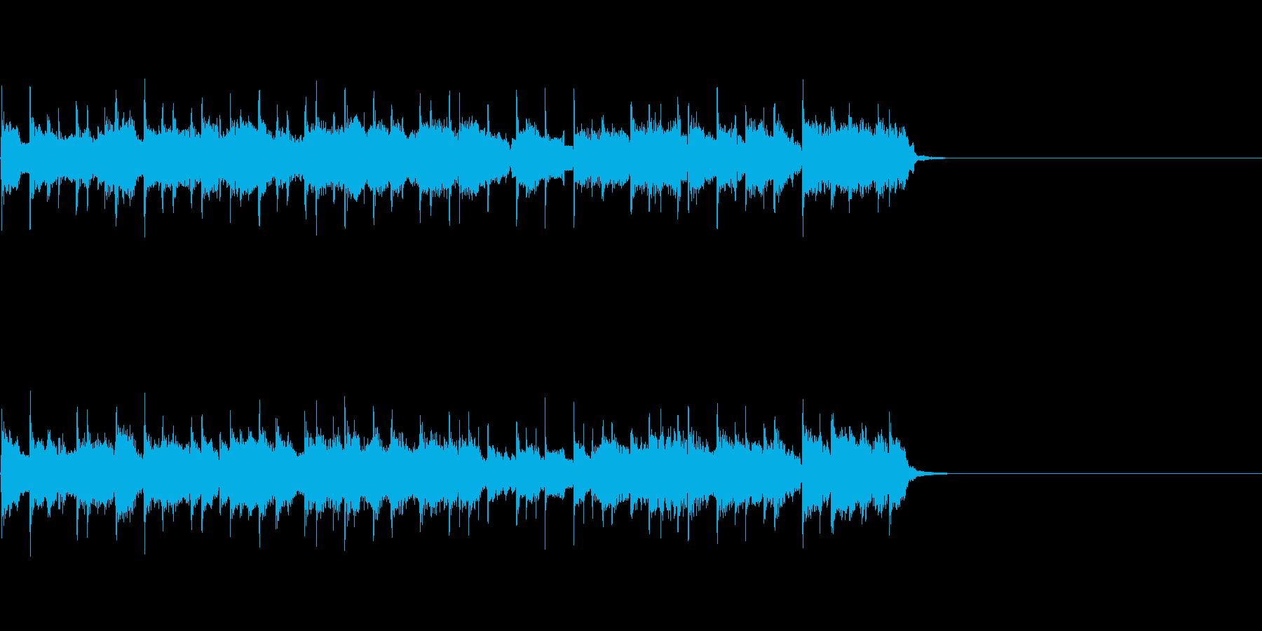 アットホームなほのぼの感の再生済みの波形