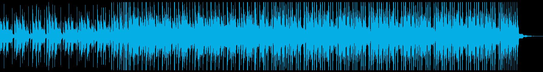 水を連想するような透明感のある曲の再生済みの波形