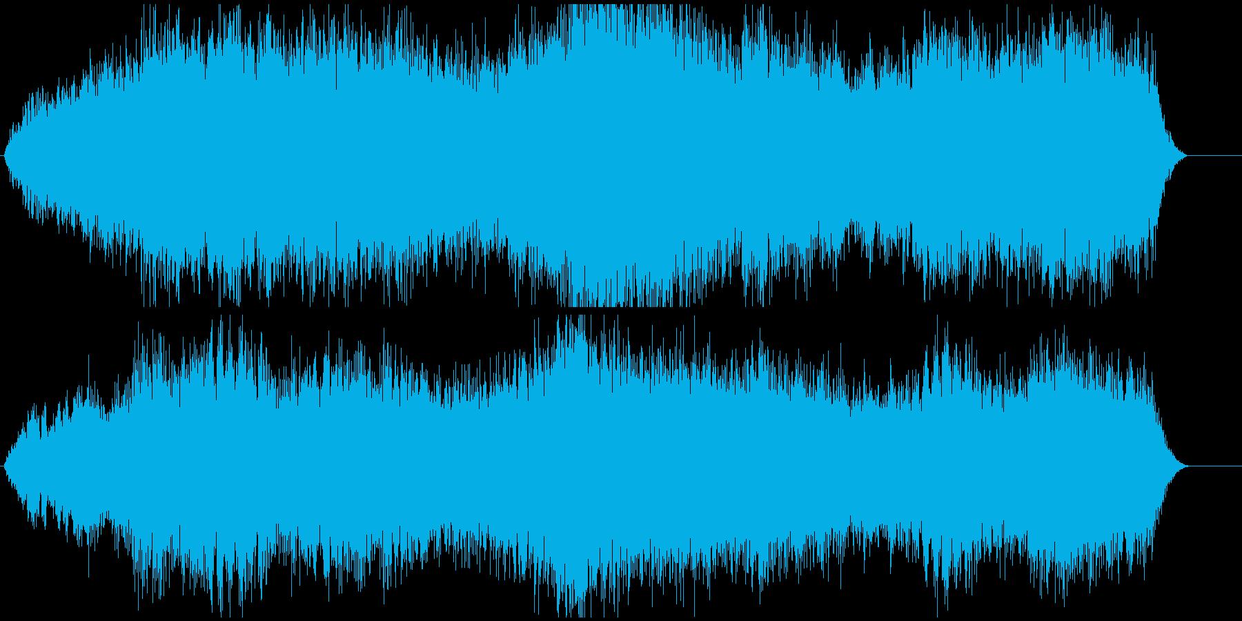 低音を重視して作成しました。の再生済みの波形