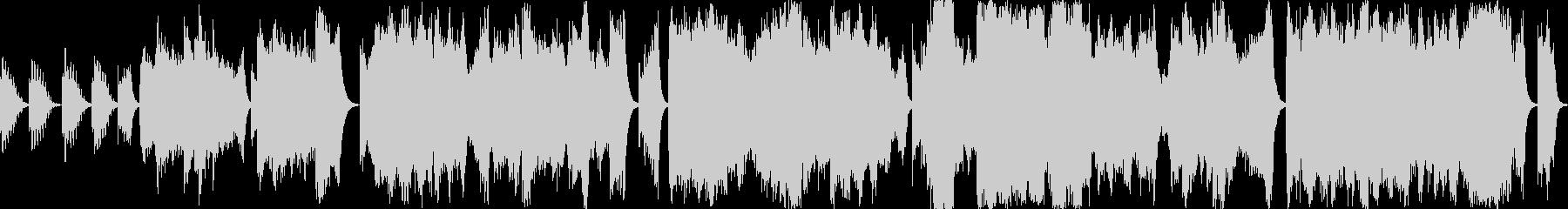 恐怖・緊張感を演出する音響的なBGMの未再生の波形