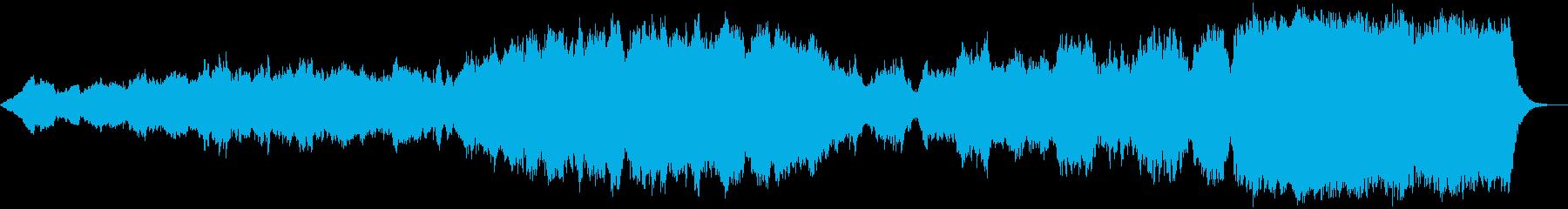 地球を讃えるクラシック曲の再生済みの波形