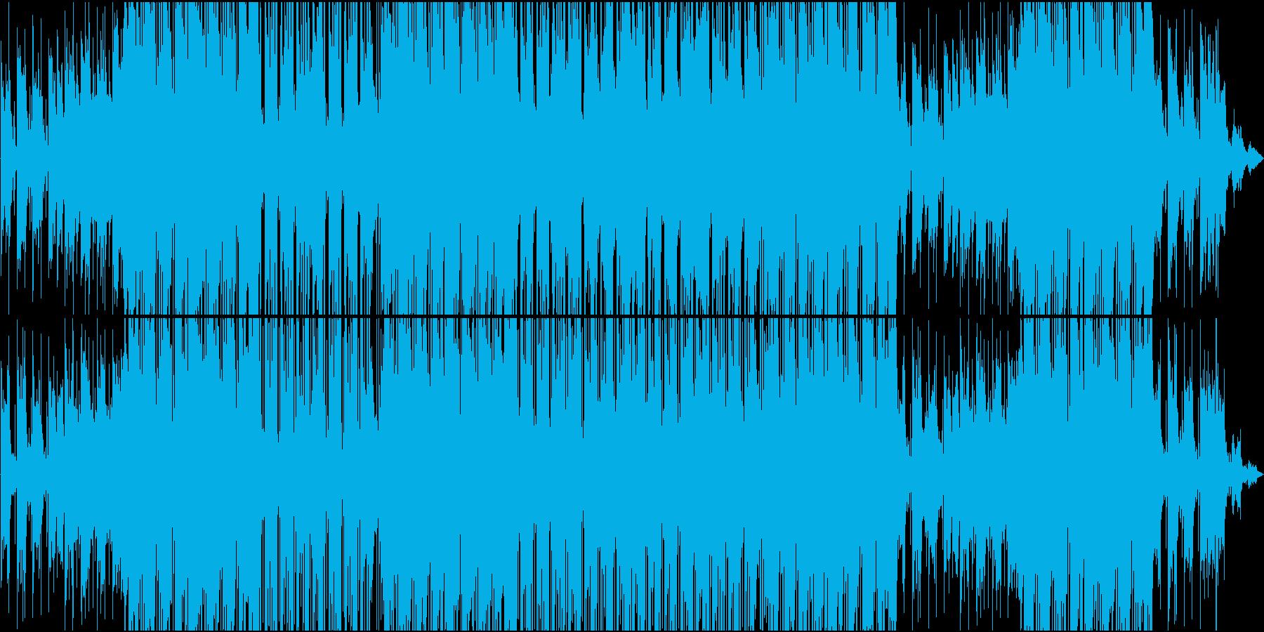80'都会系シンセR&Bゆったりバラードの再生済みの波形