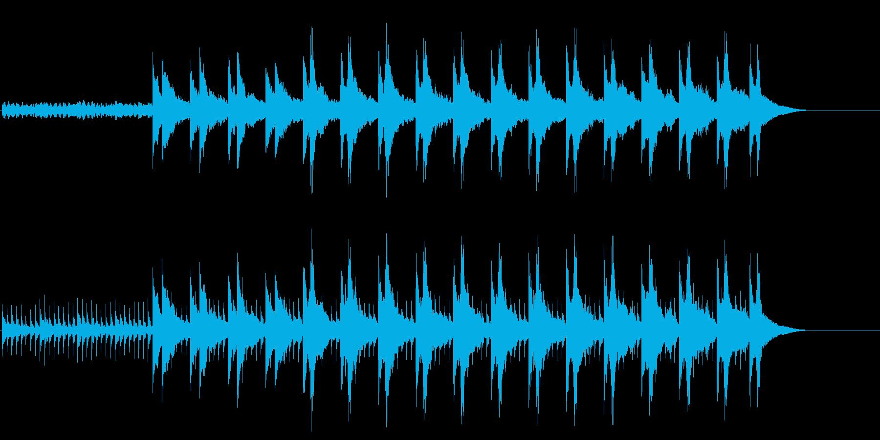 ミステリアス・サウンド(サイコチック)の再生済みの波形