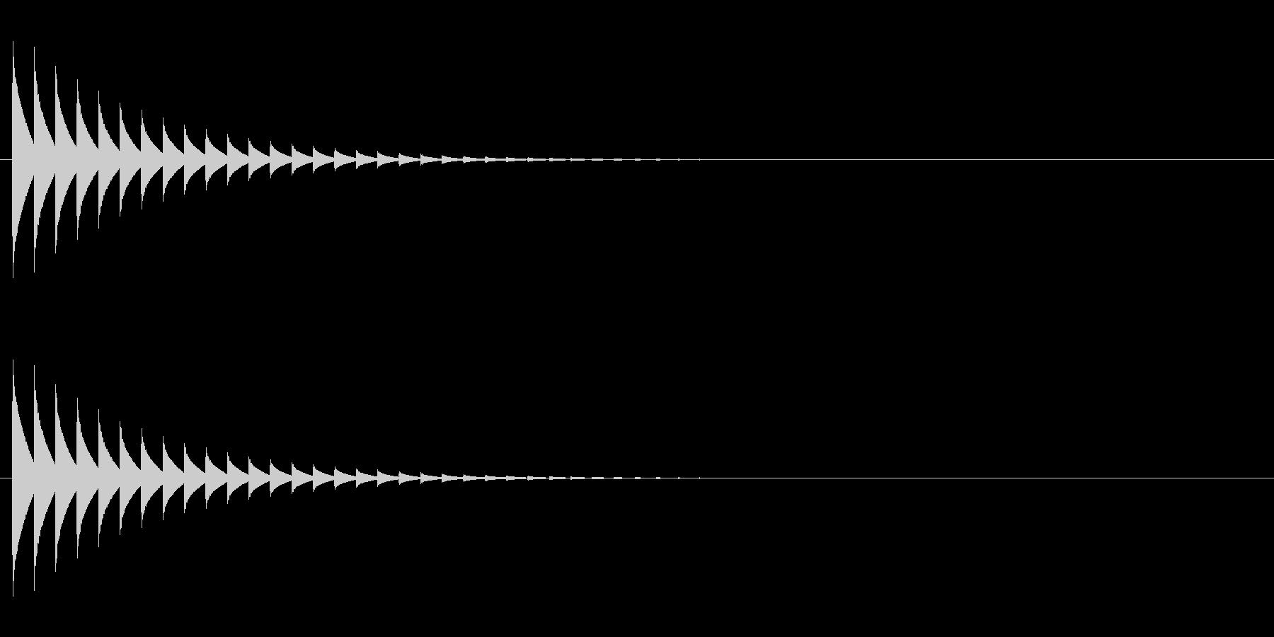 テレパシー 1の未再生の波形