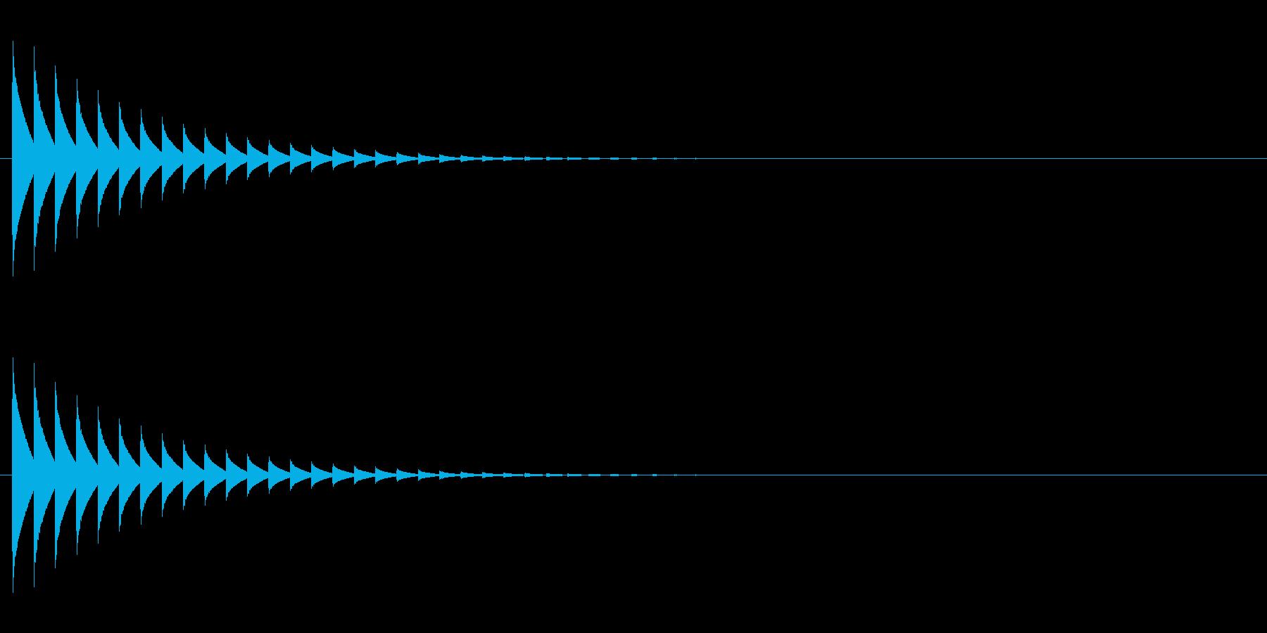 テレパシー 1の再生済みの波形